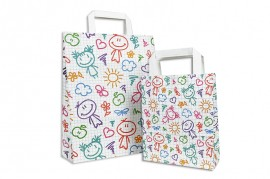 Papiertasche HAPPY KIDS